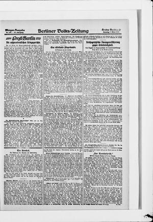 Berliner Volkszeitung vom 09.03.1919