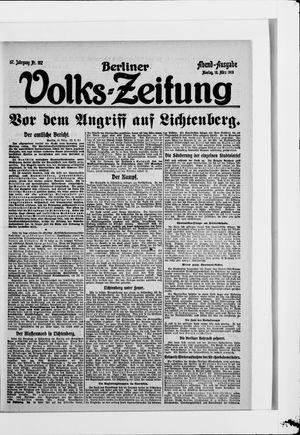 Berliner Volkszeitung vom 10.03.1919