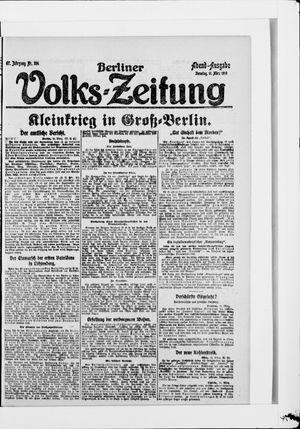 Berliner Volkszeitung vom 11.03.1919