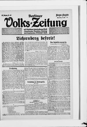 Berliner Volkszeitung vom 13.03.1919