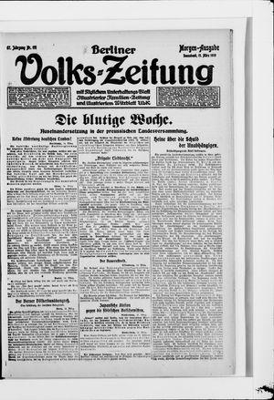 Berliner Volkszeitung on Mar 15, 1919