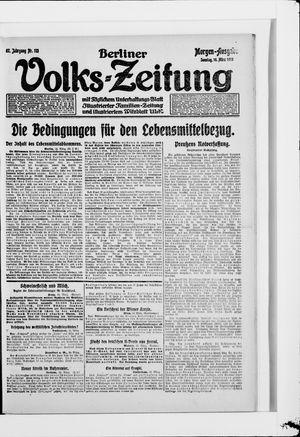 Berliner Volkszeitung vom 16.03.1919