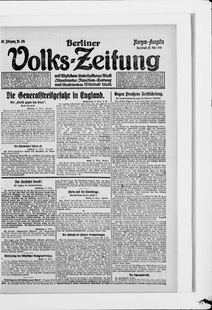 Berliner Volkszeitung vom 22.03.1919