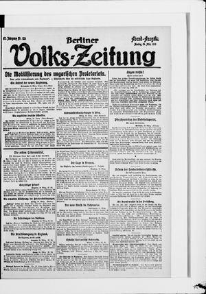 Berliner Volkszeitung vom 24.03.1919