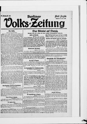 Berliner Volkszeitung vom 29.03.1919