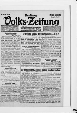 Berliner Volkszeitung vom 30.03.1919