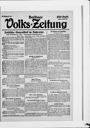 Berliner Volkszeitung vom 31.03.1919