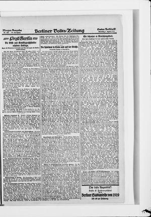 Berliner Volkszeitung vom 01.04.1919