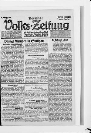 Berliner Volkszeitung vom 03.04.1919
