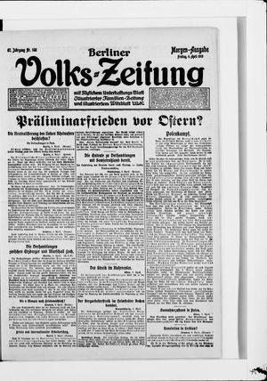Berliner Volkszeitung on Apr 4, 1919