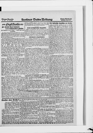 Berliner Volkszeitung vom 06.04.1919