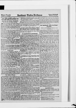 Berliner Volkszeitung vom 09.04.1919