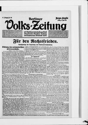 Berliner Volkszeitung on Apr 11, 1919