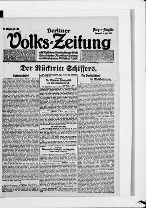 Berliner Volkszeitung vom 12.04.1919