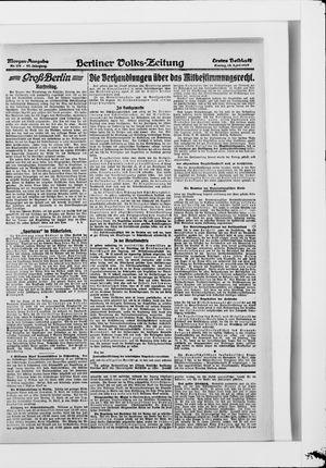 Berliner Volkszeitung vom 18.04.1919