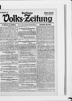 Berliner Volkszeitung vom 30.04.1919