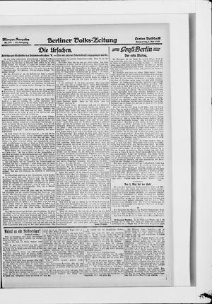 Berliner Volkszeitung on May 1, 1919