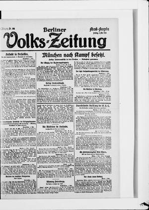 Berliner Volkszeitung on May 2, 1919