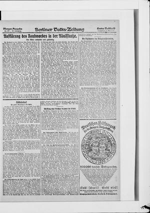 Berliner Volkszeitung vom 03.05.1919
