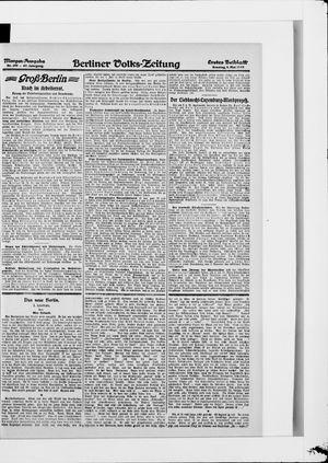 Berliner Volkszeitung vom 04.05.1919