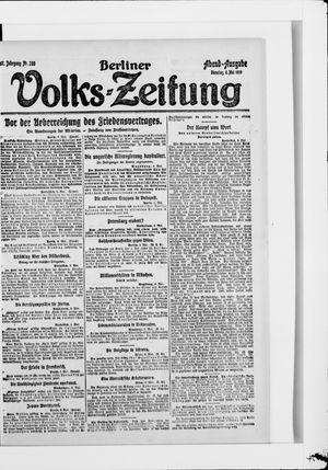 Berliner Volkszeitung vom 06.05.1919