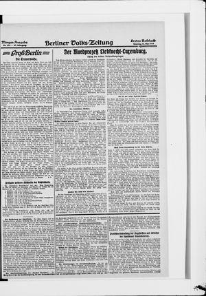 Berliner Volkszeitung vom 11.05.1919