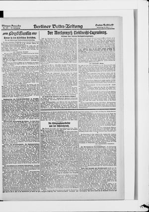 Berliner Volkszeitung vom 13.05.1919