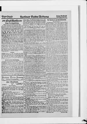 Berliner Volkszeitung vom 15.05.1919