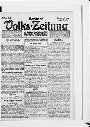 Berliner Volkszeitung vom 17.05.1919