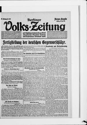 Berliner Volkszeitung vom 18.05.1919