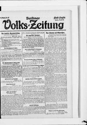Berliner Volkszeitung vom 20.05.1919