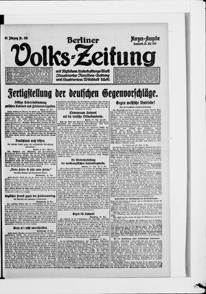 Berliner Volkszeitung vom 24.05.1919