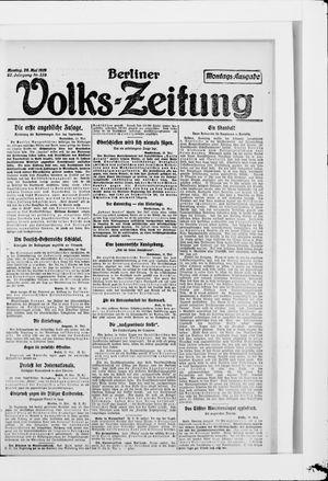 Berliner Volkszeitung vom 26.05.1919