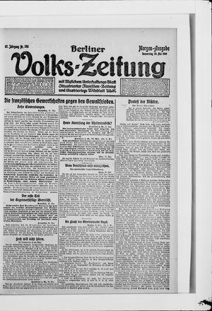 Berliner Volkszeitung vom 29.05.1919