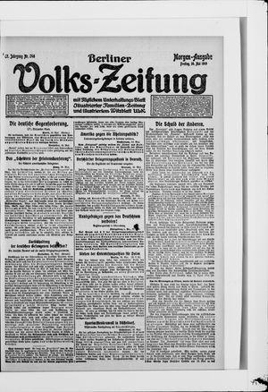 Berliner Volkszeitung vom 30.05.1919