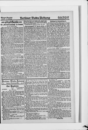 Berliner Volkszeitung vom 31.05.1919