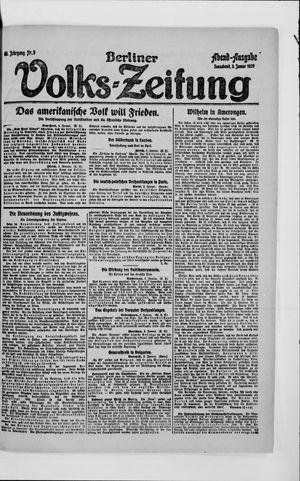 Berliner Volkszeitung vom 03.01.1920