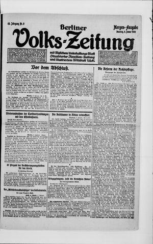 Berliner Volkszeitung vom 06.01.1920