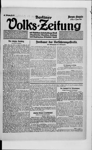 Berliner Volkszeitung on Jan 9, 1920