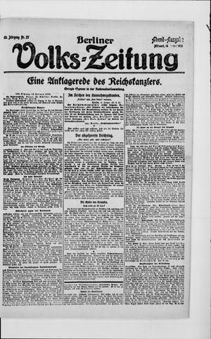 Berliner Volkszeitung vom 14.01.1920