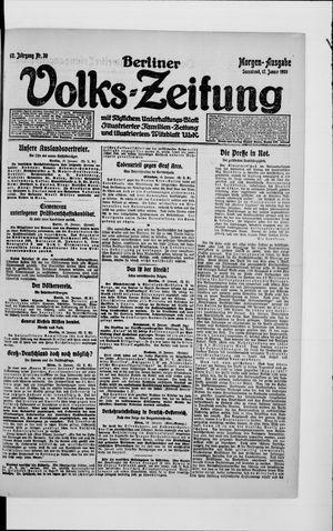 Berliner Volkszeitung vom 17.01.1920