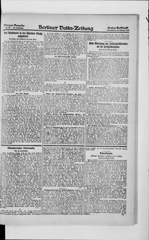 Berliner Volkszeitung vom 24.01.1920