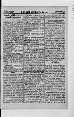 Berliner Volkszeitung vom 30.01.1920