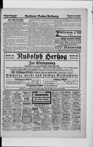 Berliner Volkszeitung vom 01.02.1920