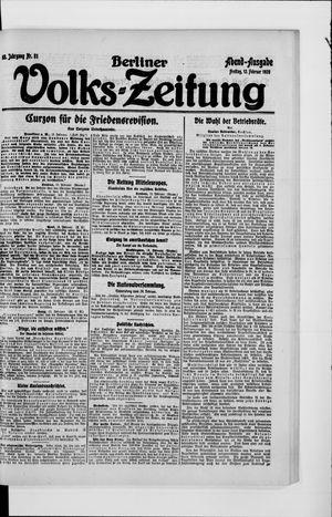 Berliner Volkszeitung vom 13.02.1920