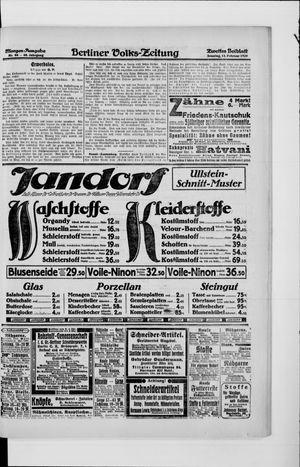 Berliner Volkszeitung vom 15.02.1920