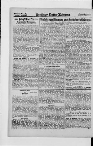 Berliner Volkszeitung vom 25.02.1920
