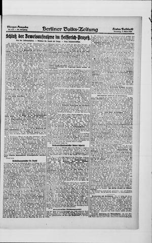 Berliner Volkszeitung vom 02.03.1920