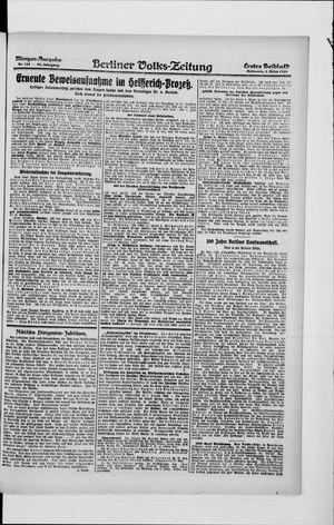 Berliner Volkszeitung vom 03.03.1920