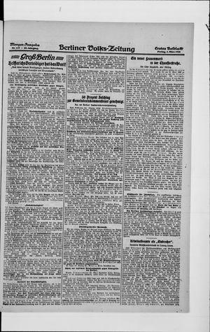 Berliner Volkszeitung vom 05.03.1920